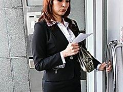 Dazzling blowjob with big tits Araki Hitomi - More at j....net