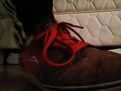 Lick my Lakai skate shoes and sniff my dirty socks!