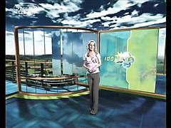 cameltoe weather girl