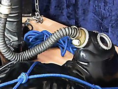Full length movie with latex wearing kinky lesbians