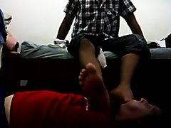 Brazilian foot master abusing his slave 2