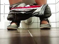 Under Door Toilet Spy
