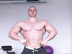 Bodybuilder muscle