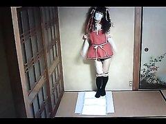 Japanese crossdresser Scat in Santa costumes Vol3