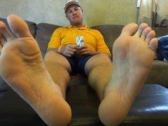 Stud feet and socks