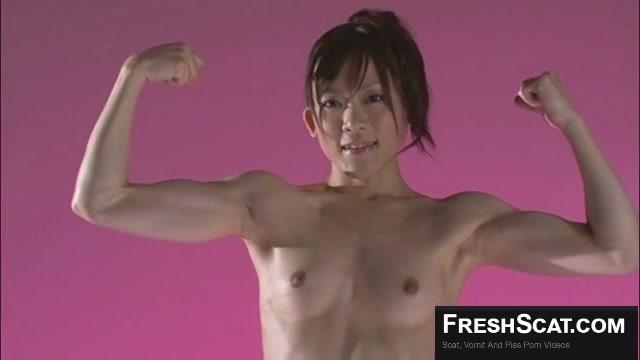 Japanese Female Bodybuilder Scat - Thisvidcom-6923