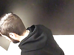 Nice guy whipping his ass, Spy cam.