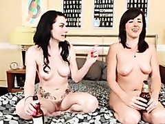 Naked burping friends