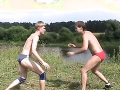 Wrestling at the lake 2