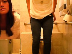 Asian girl toilet 3