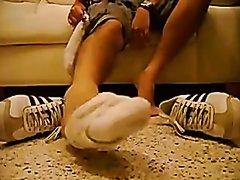 white socks - video 5