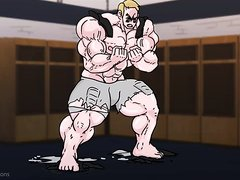 Giant Football Player Muscle Growth
