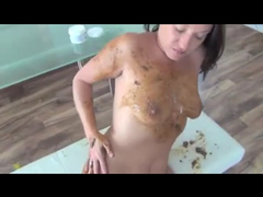 Delicious scat fuck with cumshot