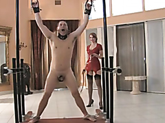 Bad slave gets whipped hard