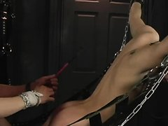 twink spanked teased tickled flogged