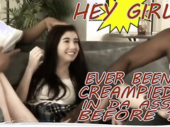 CreamPie files : stupid teen first IR lead to anal and anal creampie