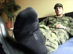 Sexy Soldier Feet