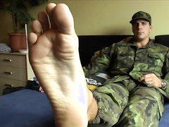 Sexy Soldier Feet