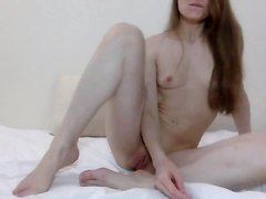Petite Cutie Works Her Hand Into Her Pussy