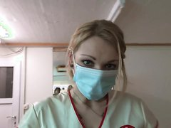 Sadistic Nurse Pounds Her Patient With A Huge Strap-on