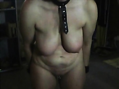 Short haired mature wife beaten naked
