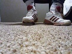 Adidas and Nike foot play