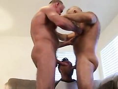 SILVER DADDIES AND YOUNGER HUNK FUCK RIM AND SUCK