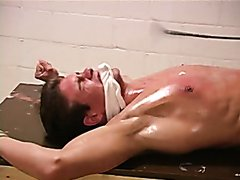 Hot Guy Tied and Whipped