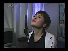 Faceslap Japanese doctor