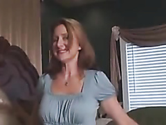 Milf drilled doggy style and creampied
