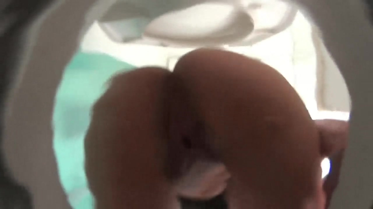 Girl poops in toilet (POV)