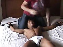 aggressive tickle session