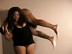 ebony bbw lift and carry plus wrestling