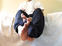 Sexy Boy Feet - video 48