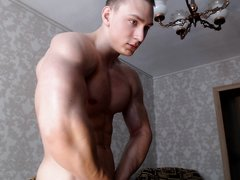 russiang muscle guy