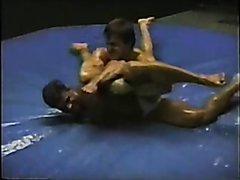 Ed Arte Oil Wrestling