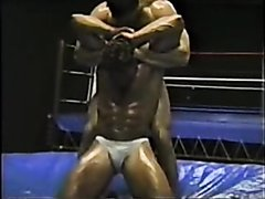 Ed Arte Oil Wrestling
