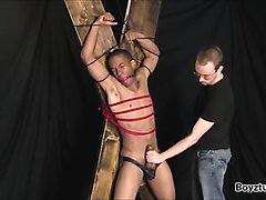 slave with big cock abused