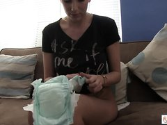 Diaper girl - video 11