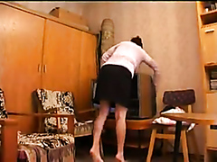 Mature aunt drilled by young studs