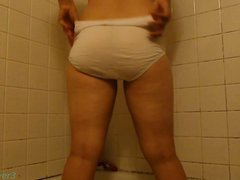 Pooping Her Maxi Pad & Panties