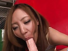 Casting for porn goes wild for sleazy Mio Kuraki - More at j....net