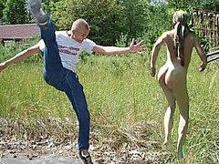 Naked faggot dance by Mark Heffron