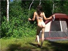 Outdoor transgender striptease 2 by Mark Heffron