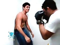 hard abs punching / body punching