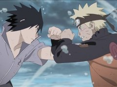 Naruto and Sasuke's Last Fist Fight!