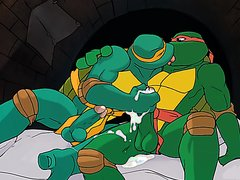 Hammytoy - Raph Making out then Plowing Mikey