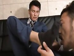 Straight Asian / Suits : Japanese Suit Sock