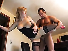 Sexy milf and her lover go wild