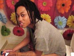 Girl Pooping video 03